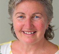 This is a portrait of Rebecca Gouldhurst, who is a highly experienced Wellbeing Counsellor