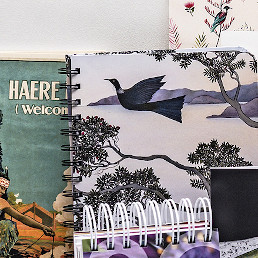 Select from a wide variety of cards and stationery that is locally made or has a New Zealand theme