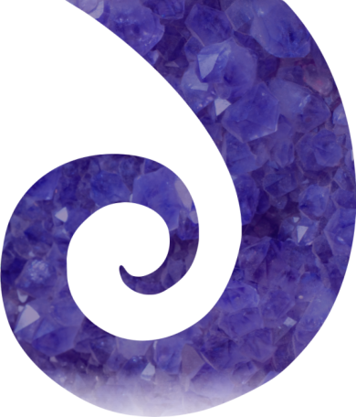 The koru symbolises new life, growth, strength and peace